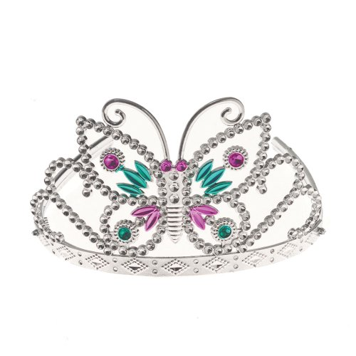 "Us Toy - Butterfly Tiara, Made of Plastic, Approximately 5"" Wide - 1"