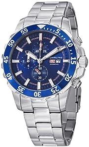 Stuhrling Original Men's 820.02 Octane Concorso Vigor Analog Display Quartz Silver Watch