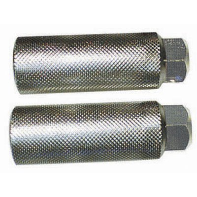 Black Ops BMX Knurled Axle Pegs, 33mm Dia, 3/8 Axle, Silver