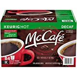 McCafe Premium Roast Decaf Coffee, K-CUP PODS, 84 Count (Tamaño: 84 count)