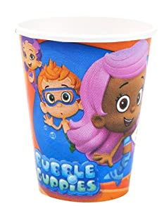 8 Bubble Guppies Coldhot Party Cups - 9 oz from Amscan
