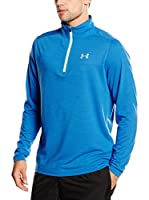 Under Armour Camiseta Manga Larga Técnica Threadborne Streaker 1/4 Zip (Azul)