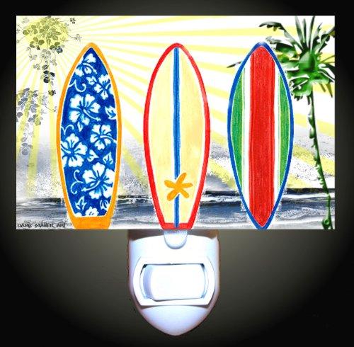 Surfboard Dream Decorative Night Light front-41374