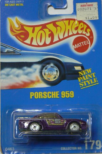 Hot Wheels Porsche 959 with Ultra Hot Wheels Collector No. 179