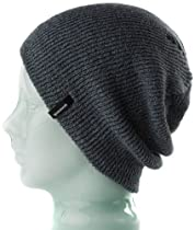 Spacecraft Heather Beanie, Grey, One Size