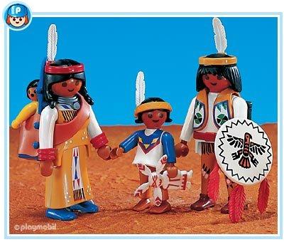 Indianenfamilie