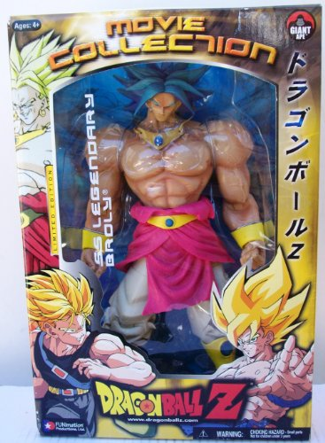 Buy Low Price Jakks Pacific Dragonball Z SS Legendary Broly Movie Collection Limited Edition Action Figure (B003KJG4T4)