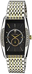 Titan Regalia Analog Black Dial Mens Watch - ND1527BM03
