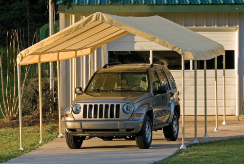 Shelter Logic™ Super Max Canopy 12x26' Tan