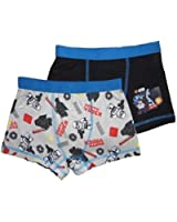 Boys Lego Star Wars Boxers Trunks Two Pack Sizes 4-5 up to 12-13 Years Ex Store