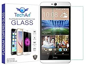 TechArt 9H Hardness Toughened Scratch Proof [2.5D] Tempered Glass Screen Protector for HTC Desire 826