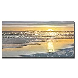 That Sunset Moment by Kate Carrigan Oversize Custom Gallery-Wrapped Canvas Giclee Art (Ready to Hang)