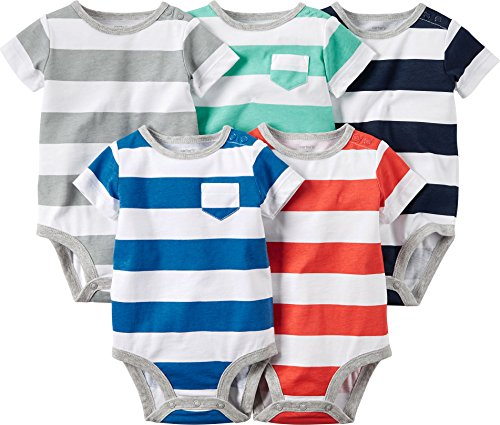 carters-5-pack-bodysuits-striped-6-months