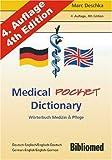 Medical Pocket Dictionary. Wörterbuch Medizin und Pflege. Deutsch / Englisch - English / German title=