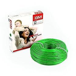 GM Flame Retardant Wire - 4 Sq mm (90m, Green)