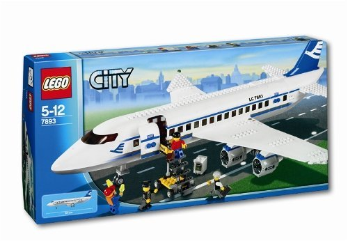 Lego City - Passenger Plane back-892614