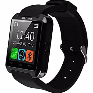 M MHB Black Smart Notification Watch Bluetooth Watch ios Android Connect Smartwatch