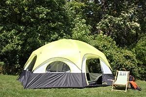 Tahoe Gear Coronado 12 Person Dome Family Cabin Tent by Tahoe Gear