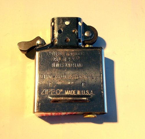 Zippo Inside Guts Silver Chrome (No Outside Case) Only Inside Insert (Zippo Parts compare prices)