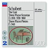 echange, troc  - Schubert : Les 3 dernières sonates pour piano D. 958, 959 & 960 / Klavierstücke D. 946 (Coffret 2 CD)