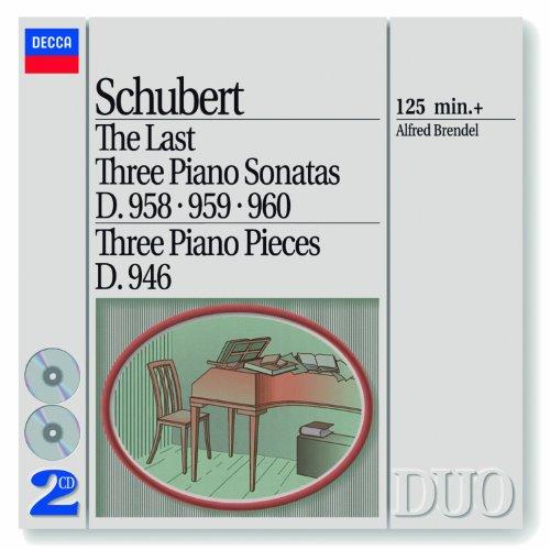 Schubert: The Last Three Piano Sonatas D. 958-959-960