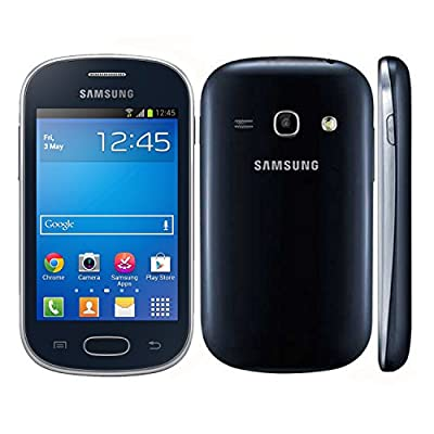 Samsung Galaxy Fame Lite Duos S6792 Unlocked GSM Android Cell Phone - Black