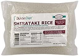 Dukan Diet Shirataki Rice, 8 Ounce (Pack of 24)