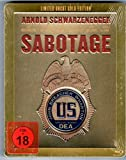 Sabotage Gold Edition Steelbook Blu-Ray, Media-Markt Exklusive,