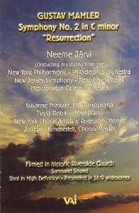 Gustav Mahler: Symphony No. 2 in C Minor - Resurrection/ Neeme Jarvi, conducting