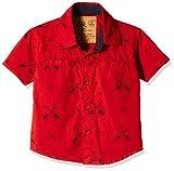 Little Kangaroos Boys' Shirt (11076_Red_10 year)