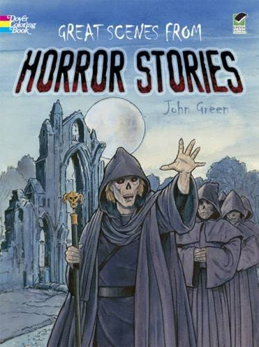 Great Scenes from Horror Stories (Dover Classic Stories Coloring Book) PDF