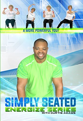 Senior Exercise DVD: Simply Seated with Curtis Adams host of national TV Program A New Way 2 Move (Senior Fitness Program compare prices)