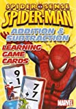 Marvel Spider-Man Addition and Subtraction Learning/Flash Cards