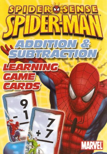 Marvel Spider-Man Addition and Subtraction Learning/Flash Cards - 1