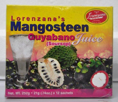 Mangosteen Guyabano Juice (Soursop Graviola)