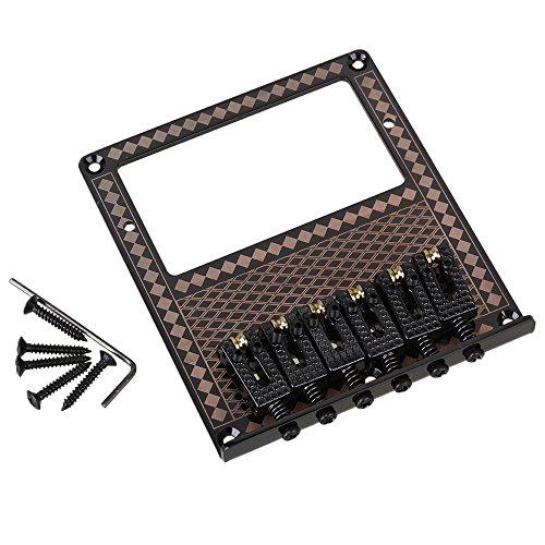 Yibuy 10,5 mm, spaziatura chitarra elettrica, motivo ponte Humbucker & Diamond