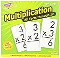 Trend Enterprises Multiplication 0-12 Flash Cards (All Facts) by Trend Enterprises