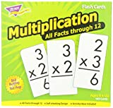 Trend Enterprises Multiplication 0-12 Flash Cards (All Facts)