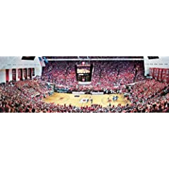 Buy MasterPieces PuzzleCompany NCAA Indiana Hoosiers Basketball Stadium Panoramic Jigsaw Puzzle (1000-Piece) by MasterPieces PuzzleCompany