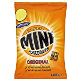 McVitie's Baked Mini Cheddars Original 125g Price Marked £1.00 (Pack of 12)