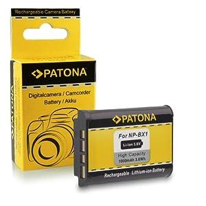 M&L Mobiles®   Batterie de qualité premium comme Sony NP-BX1 avec Infochip · 100% compatible avec Sony DSC-RX100   DSC RX100