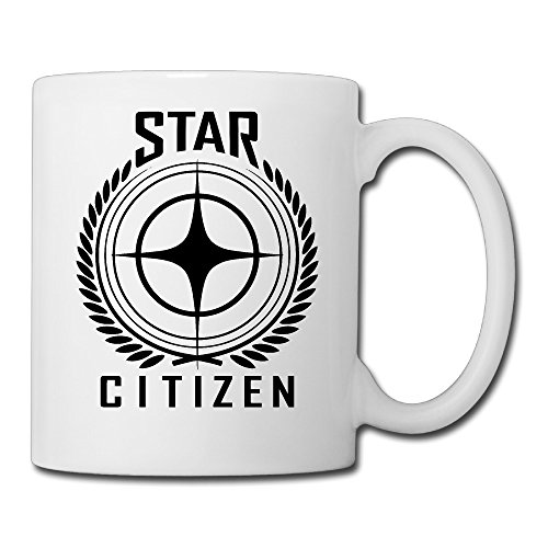 White-Star-Citizen-Game-Logo-Ceramic-Mug-Cup-11oz-Unisex-Printed-On-Both-Sides