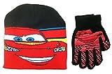 Disney Cars Lightning McQueen Knit Hat and Glove Set - Boys