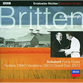 Schubert: Variations on a original theme, in A flat, D.813 - Variation 1