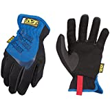 Guantes Mechanix Wear FastFit, Large, color azul