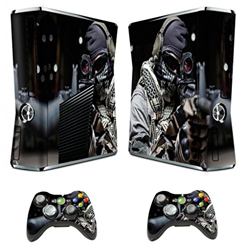 Home Design Games For Xbox 360: Designer Skin Sticker For Xbox 360 Slim Console With Two