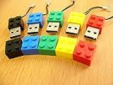 Lego Style 4GB USB Drive GREEN