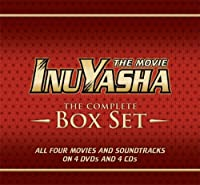 Inuyasha Complete Deluxe Movies Box Set Limited Edition by Viz Video