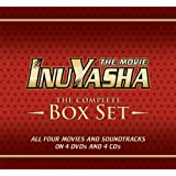 Inuyasha: Complete Deluxe Movies Box Set (Limited Edition) ~ Richard Ian Cox