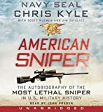 American Sniper CD by Kyle, Chris, McEwen, Scott, DeFelice, Jim (Unabridged Edition) [AudioCD(2012)]